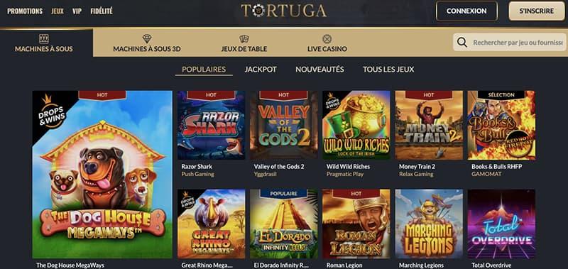 tortuga casino capture d'ecran jeux