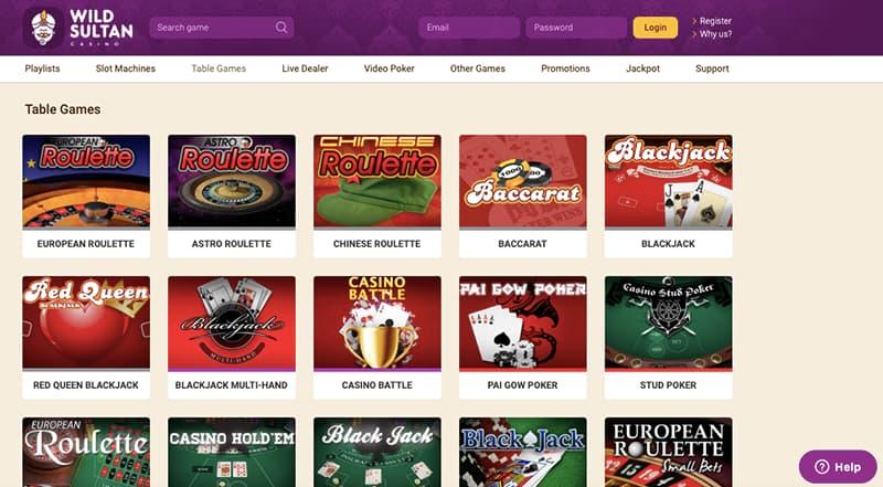 wild sultan casino capture d'ecran jeux